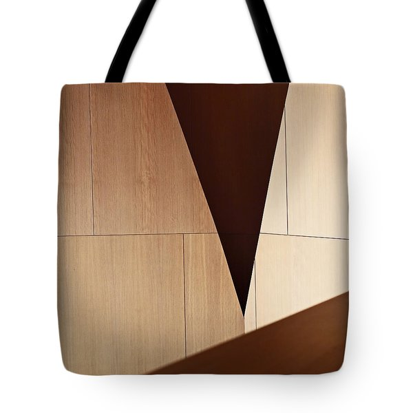Counterpoint Tote Bag by Rona Black