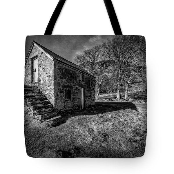 Country Cottage V2 Tote Bag by Adrian Evans