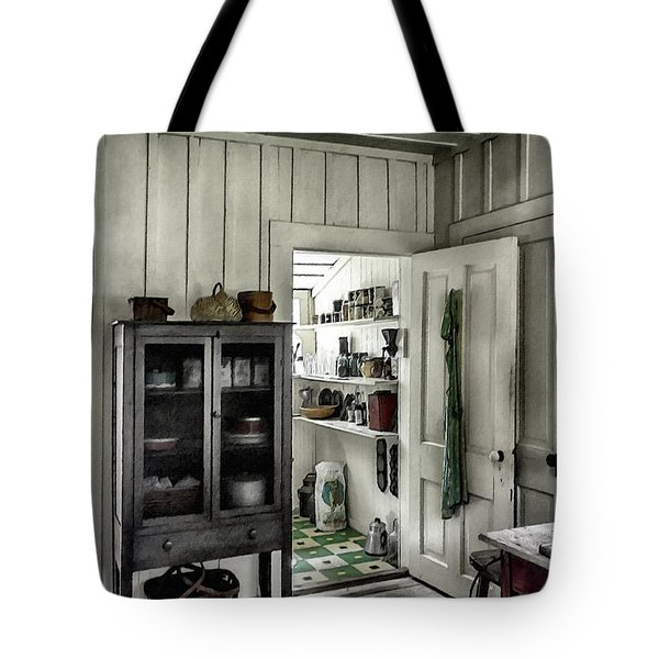 Country Pantry Tote Bag by Lynn Palmer