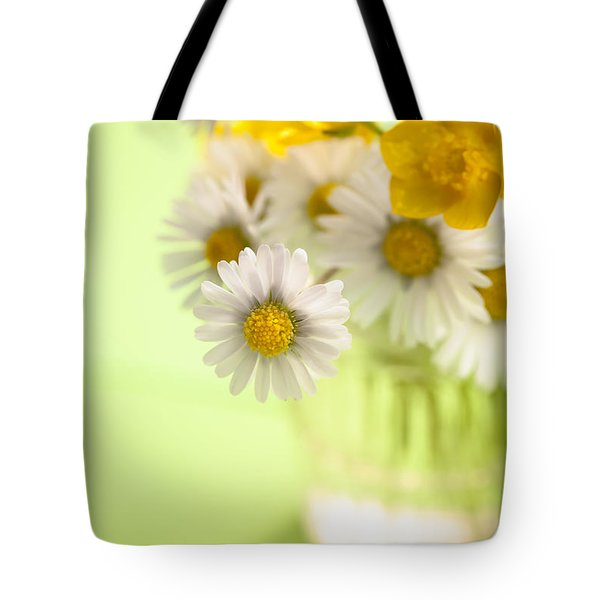 Country Posy Tote Bag by Jan Bickerton