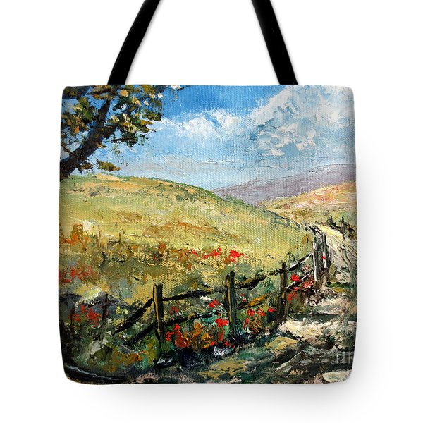 Country Road Tote Bag by Lee Piper