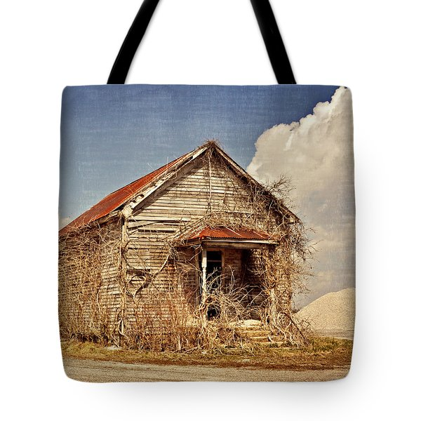 Country Schoolhouse  Tote Bag by Marty Koch