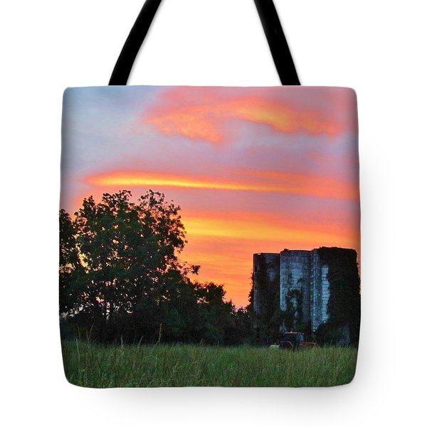 Country Sky Tote Bag by Cynthia Guinn