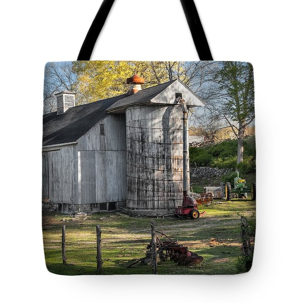 Country Time Square Tote Bag by Bill  Wakeley
