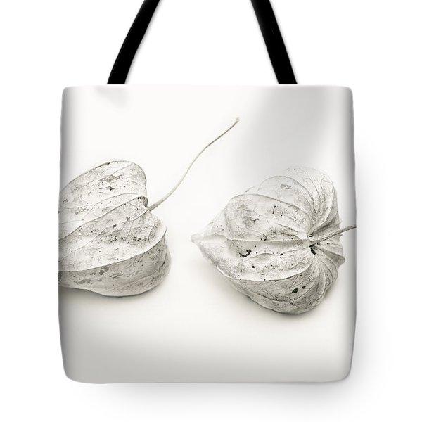 Couple Physalis Tote Bag by Sviatlana Kandybovich