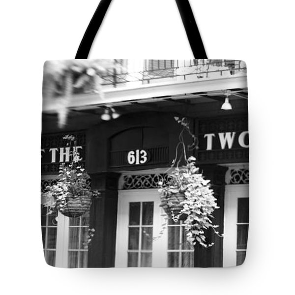 Court Of The Two Sisters Tote Bag by Scott Pellegrin