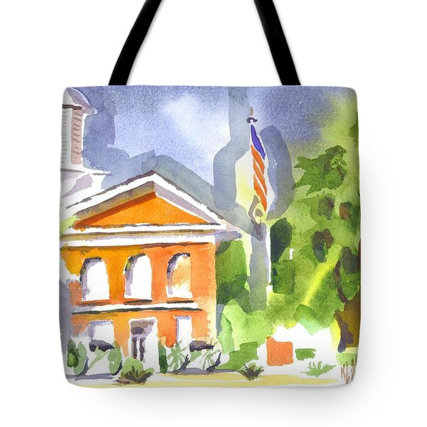 Courthouse Abstractions II Tote Bag by Kip DeVore