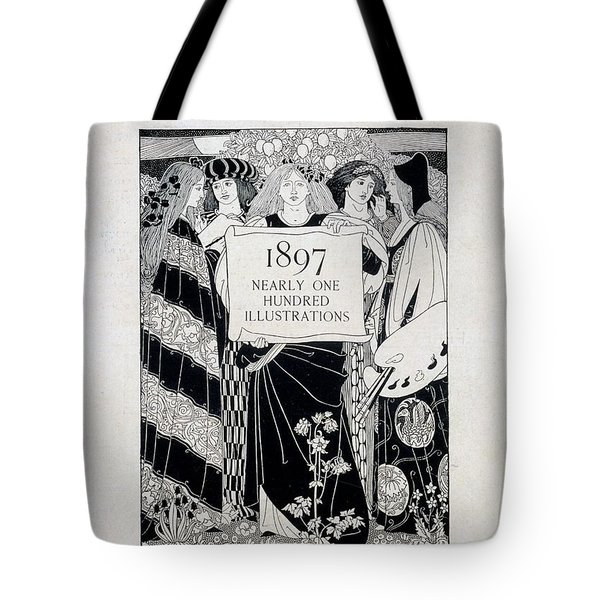 Cover For Art At The Paris Salons Tote Bag by English School