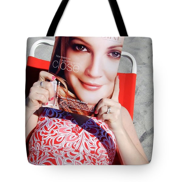 Cover Girl Tote Bag by Edward Fielding