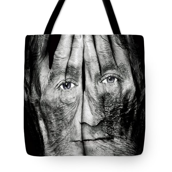 Cover Thy Faces Tote Bag by Gary Keesler