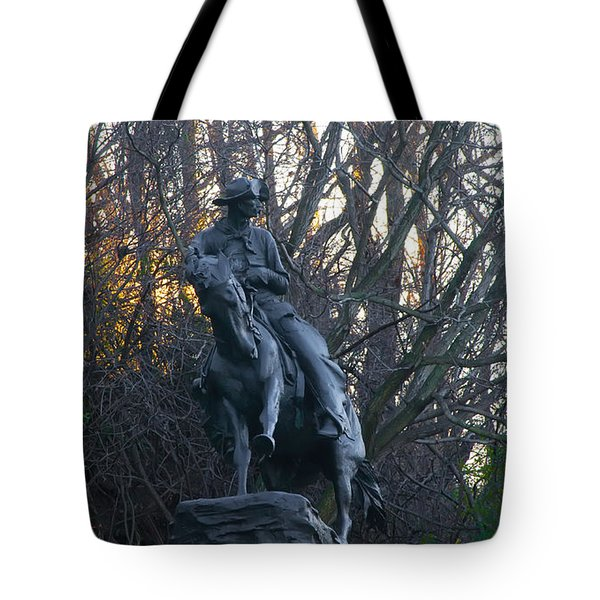 Cowboy 1908 By Frederic Remington Tote Bag by Bill Cannon
