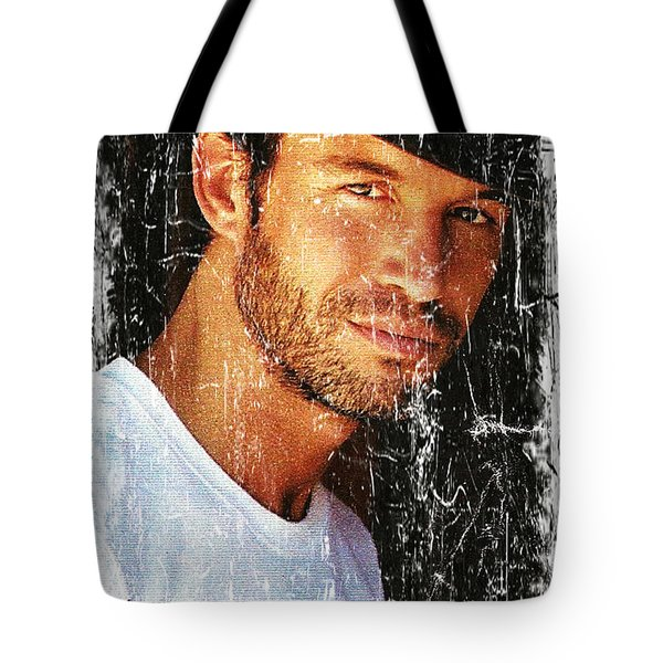 Cowboy Fashion Tote Bag by M and L Creations