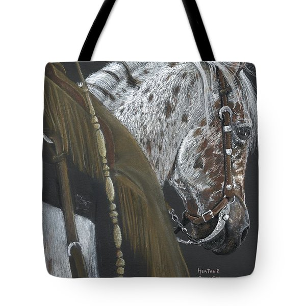 Cowboy Tote Bag by Heather Gessell