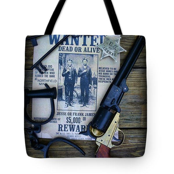 Cowboy - Law and Order Tote Bag by Paul Ward