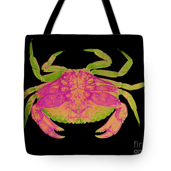 Crab Tote Bag by D Roberts