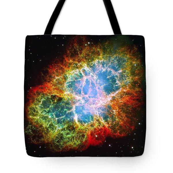 Crab Nebula Tote Bag by Don Hammond