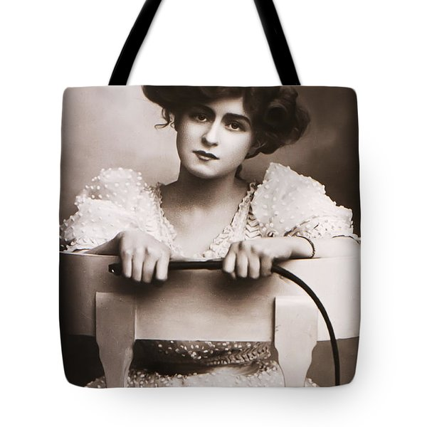 Crack the Wip Tote Bag by Unknown