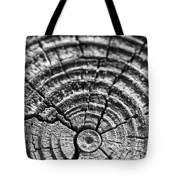 Cracks in Time Tote Bag by Christi Kraft