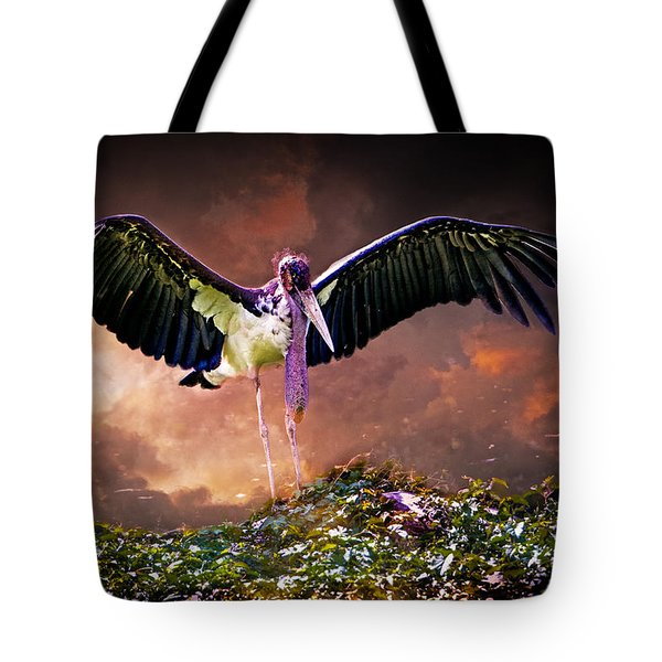 Crane The Lawyer Tote Bag by Chris Lord