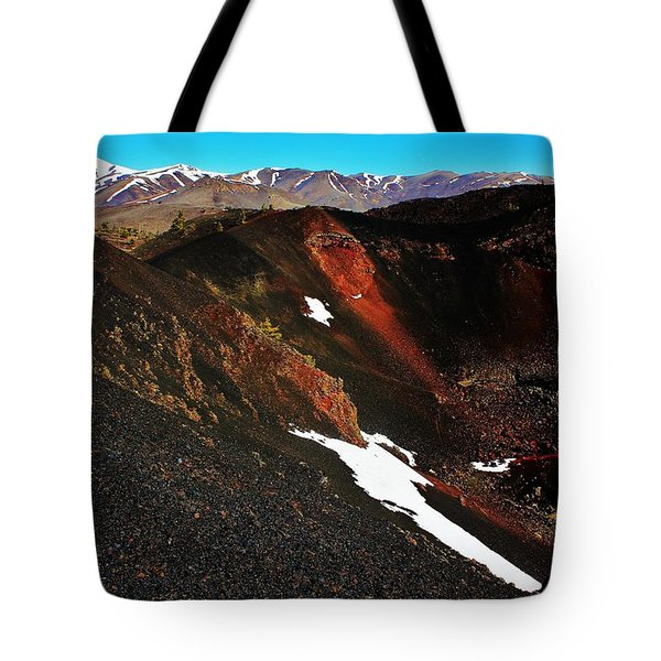 Craters of the Moon Tote Bag by Benjamin Yeager