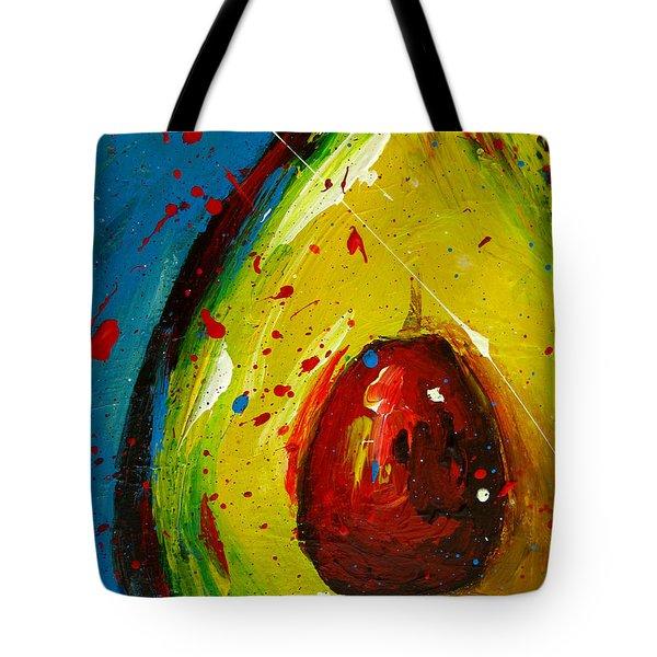 Crazy Avocado 4 Tote Bag by Patricia Awapara