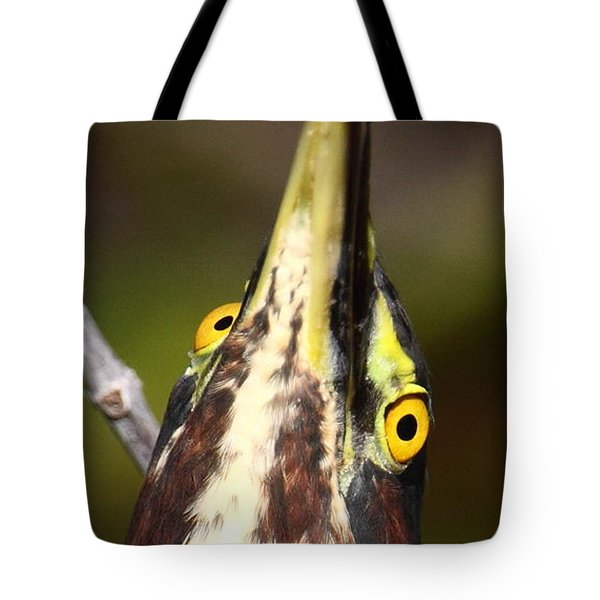 Crazy Eyes Tote Bag by Bruce J Robinson