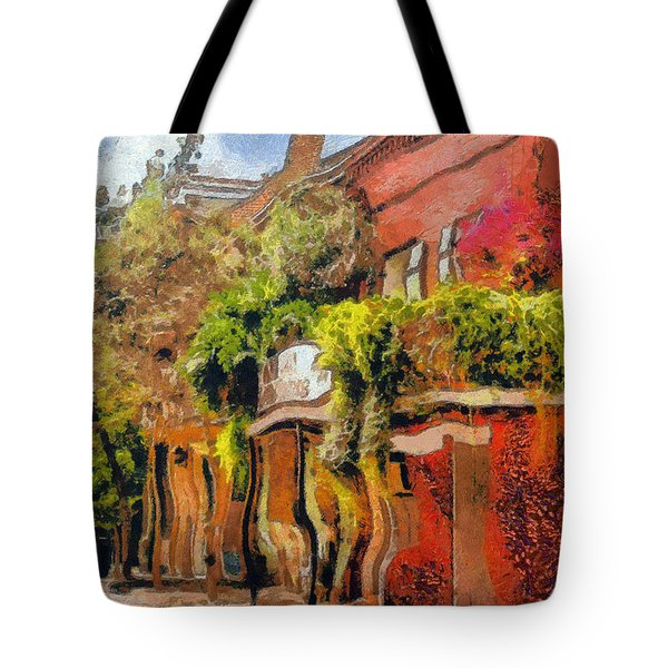 Crazy Whimsy Wacky New Orleans Tote Bag by Christine Till