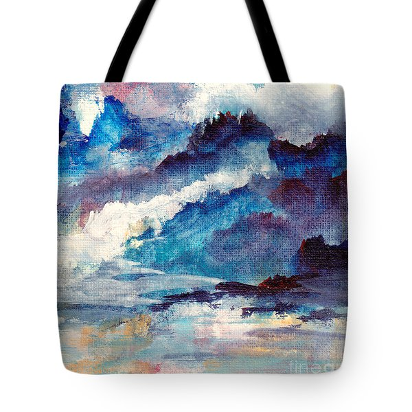 Creation Tote Bag by Kathy Bassett