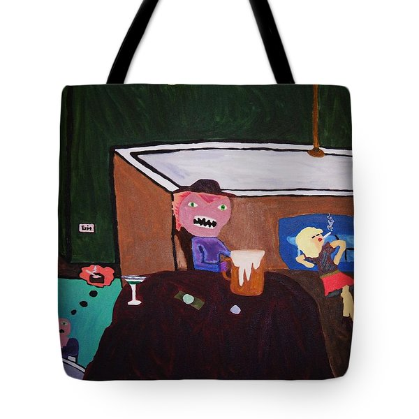 Creatures Of The Night Tote Bag by Bamhs Blair