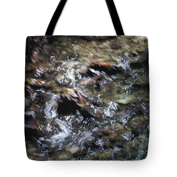 Creek Bed Tote Bag by William Norton