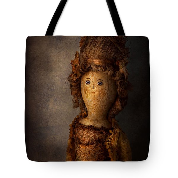 Creepy - Doll - Matilda Tote Bag by Mike Savad
