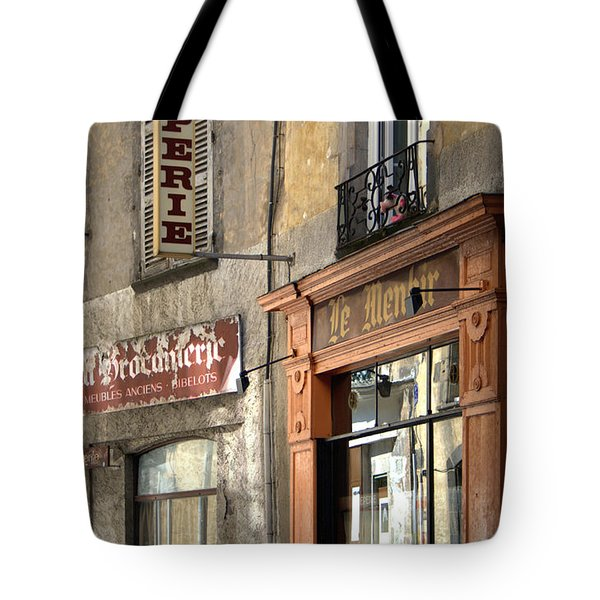 Creperie In Clermont Ferrand France Tote Bag by Nomad Art And  Design