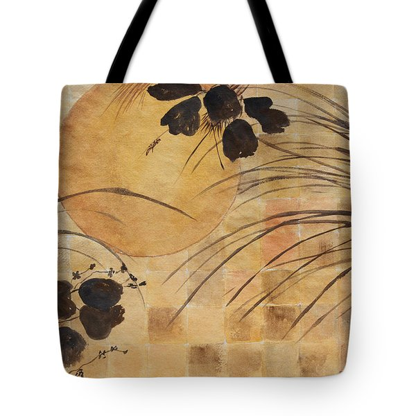 Cricket And The Moon Tote Bag by Patricia Novack