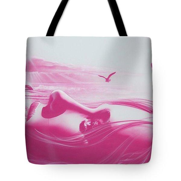 'crimson Light' Tote Bag by Christian Chapman Art