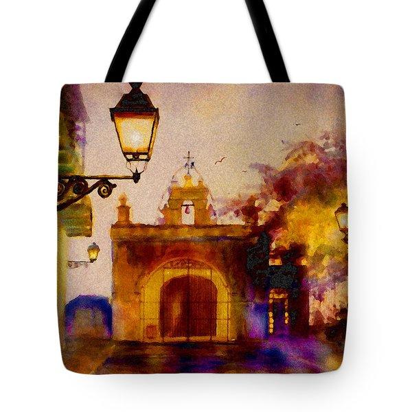 Cristo Chapel San Juan Tote Bag by Estela Robles