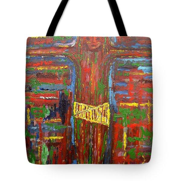 CROSS 3 Tote Bag by Patrick J Murphy