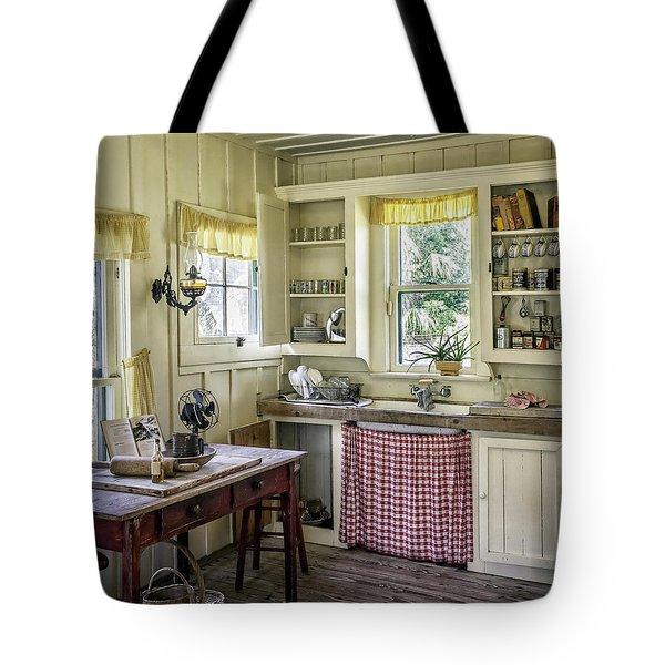 Cross Creek Country Kitchen Tote Bag by Lynn Palmer