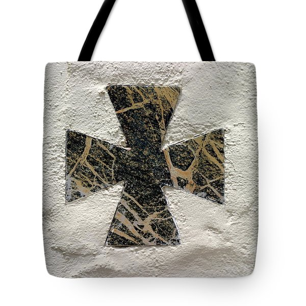 Cross Tote Bag by Henrik Lehnerer