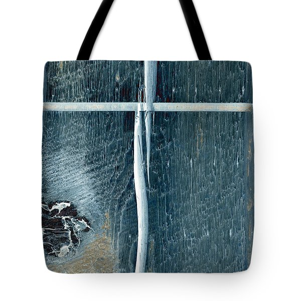 cross2bear Tote Bag by Tom Druin