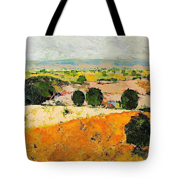 Crossing Paradise Tote Bag by Allan P Friedlander
