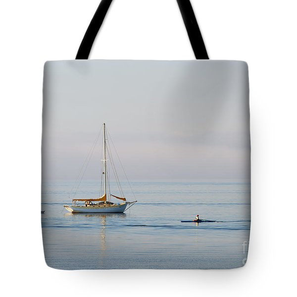 Crossing Paths Tote Bag by Mike  Dawson