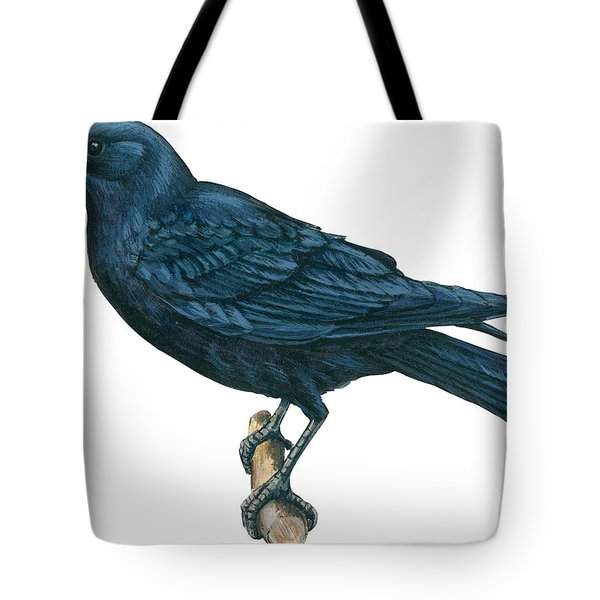 Crow Tote Bag by Anonymous