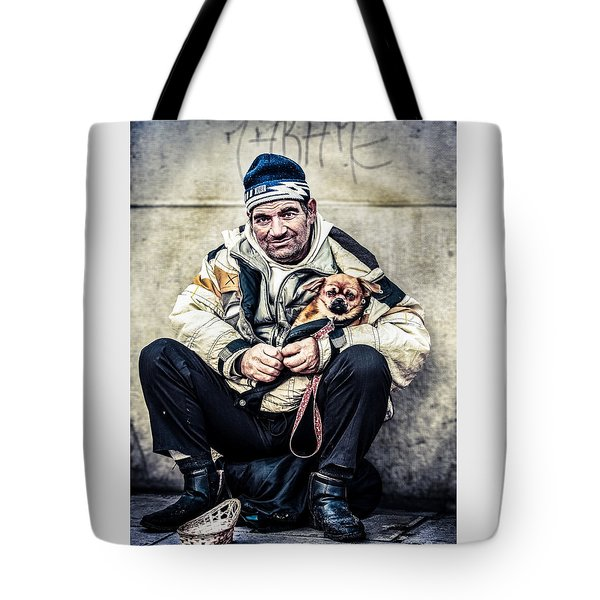 Cruel Street Life Tote Bag by Stwayne Keubrick