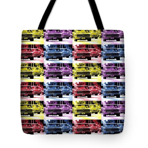 Cruise Pop 3 Tote Bag by Gordon Dean II