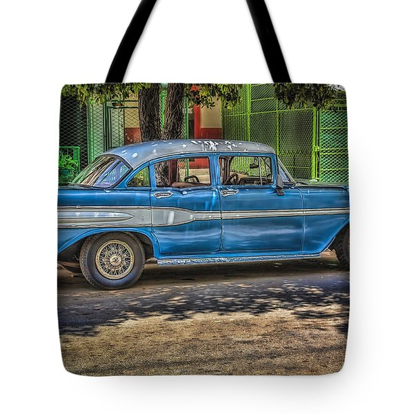 Cruisin Havana Tote Bag by Erik Brede