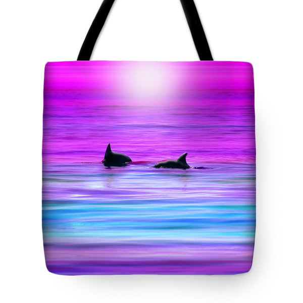 Cruisin' Together Tote Bag by Holly Kempe