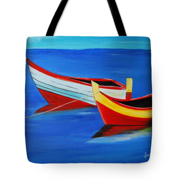 Cruising On A Bright Sunny Day Tote Bag by Sonali Kukreja