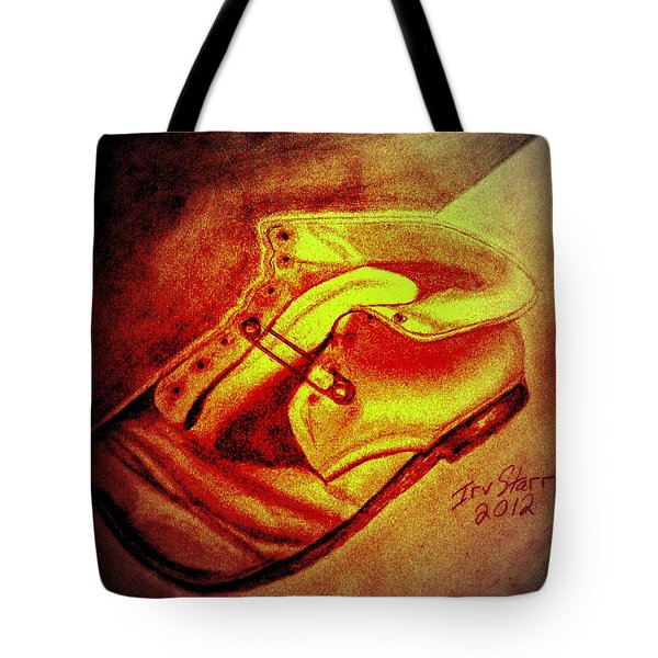 Crushed Baby Shoe Tote Bag by Irving Starr