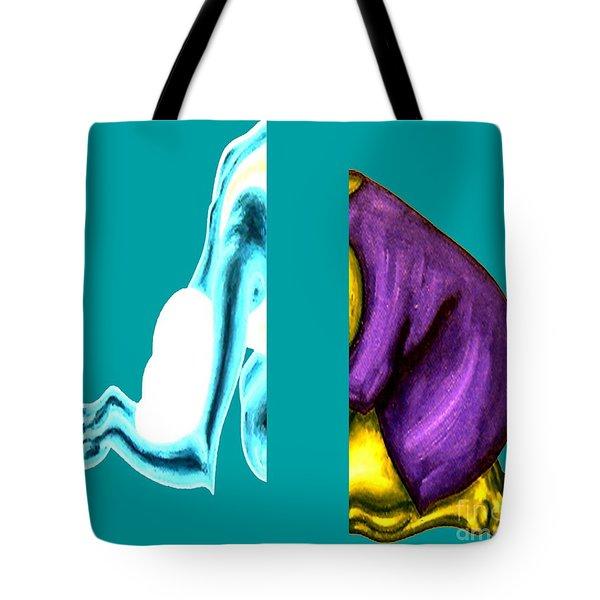 CRUSHING EMOTION Tote Bag by Patrick J Murphy
