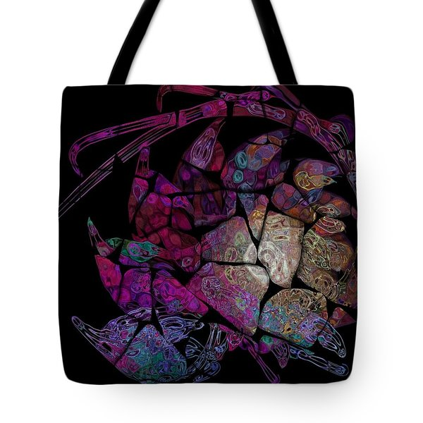 Crustacean Tote Bag by Amanda Moore